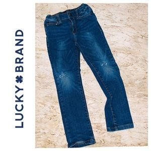 Lucky Brand Authentic Skinny Jeans. Girls size 4/5
